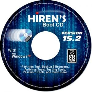 Hiren's Boot CD 15.2 Free Download